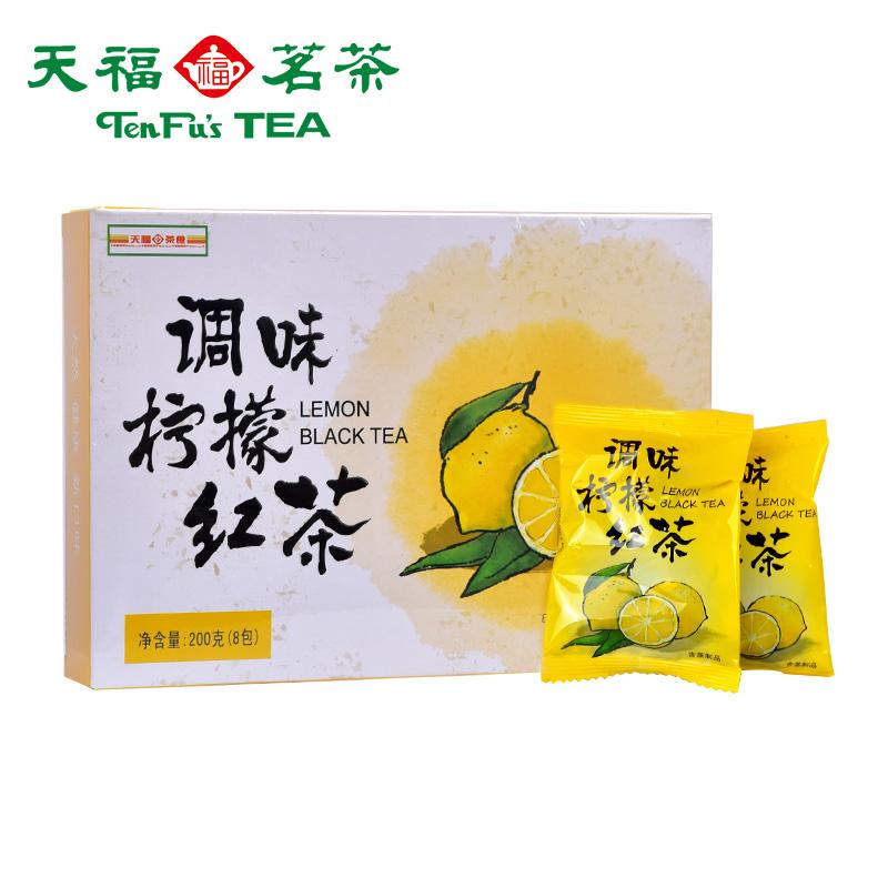 精致盒装 200g 水果花茶 休闲甄春花草茶 柠檬红茶 调味 天福茗茶