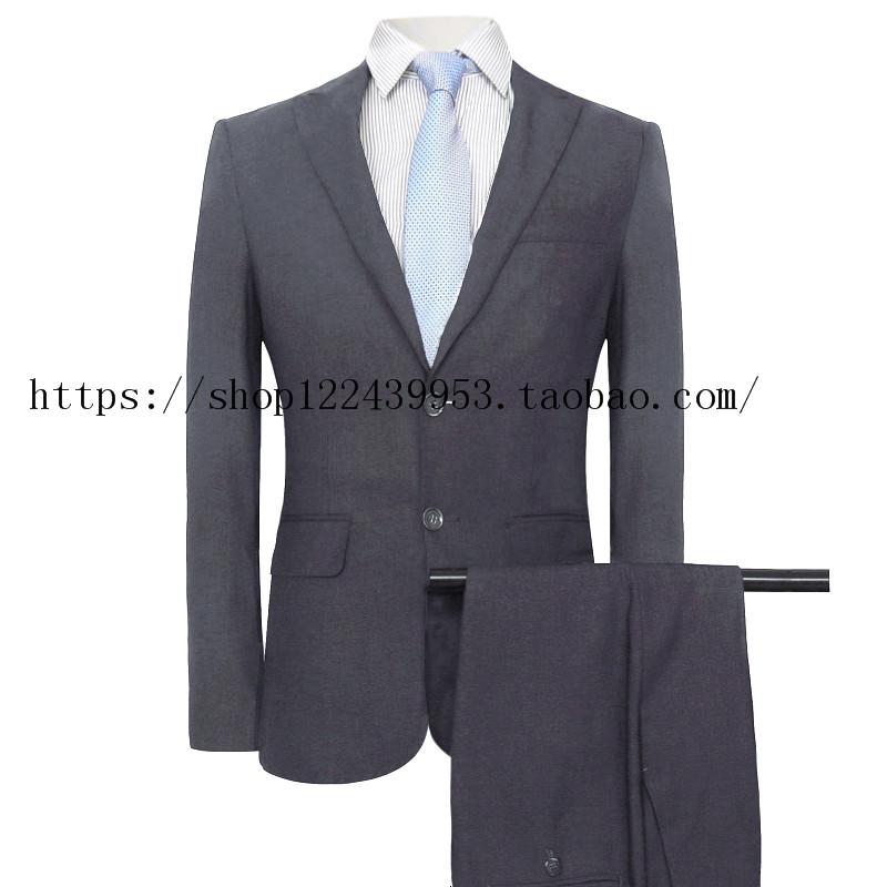 长城4S店西装工作服 男西服上衣 哈弗汽车销售工装制服西裤深灰色