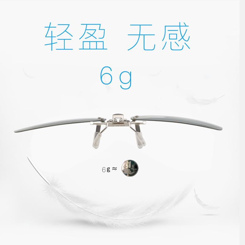 三d立体电影院专用夹片imax电视3d眼镜通用reald近视眼镜夹镜眼睛