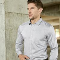 白衬衫男长袖正装免烫韩版修身纯棉商务纯色衬衣内搭职业男式寸衫 (¥169)