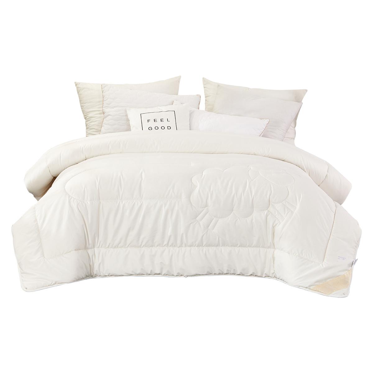 富安娜家纺被子冬厚被纯棉冬被单人1.5m双人1.8米床品被芯厚被褥