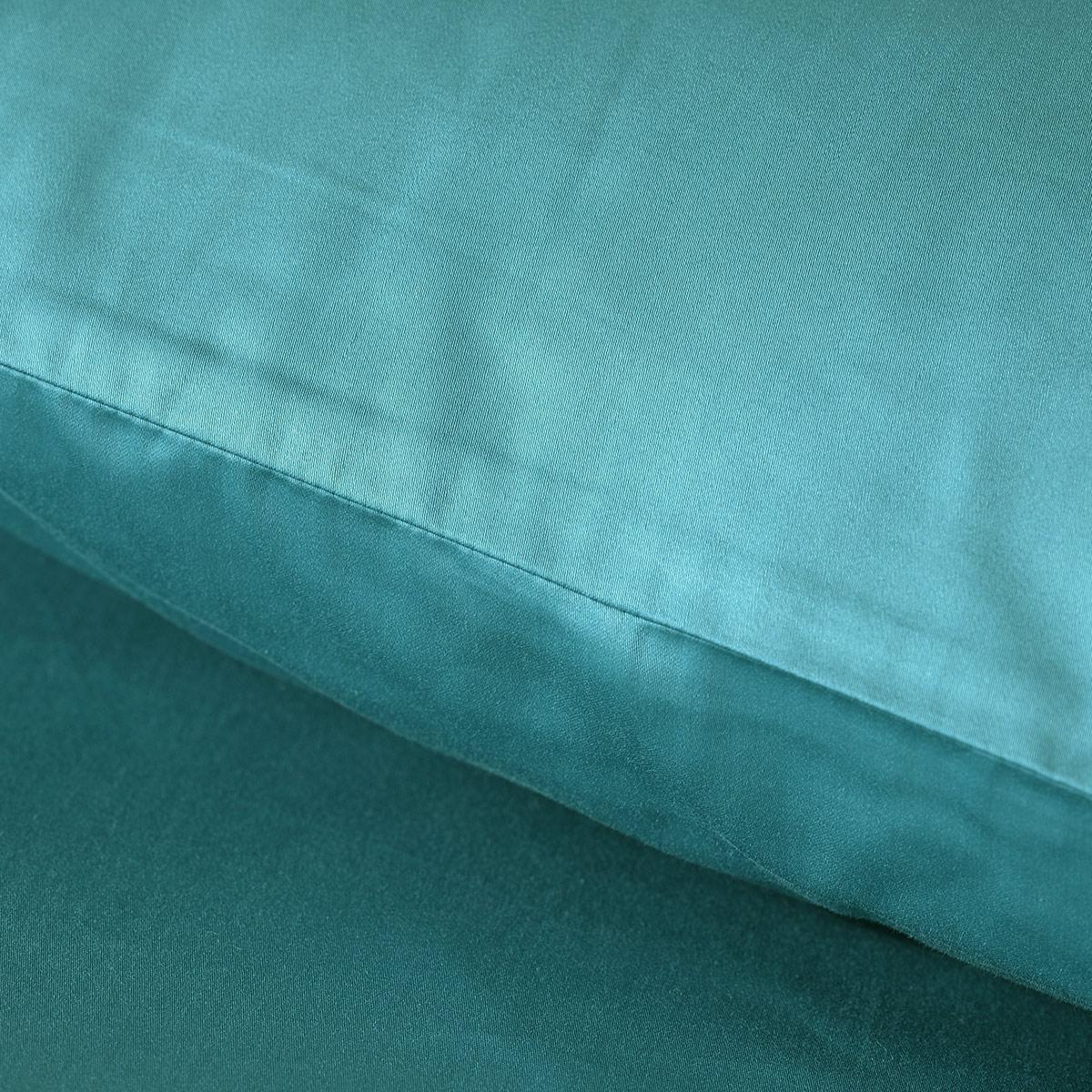 水星家纺 环球旅者枕套 枕芯罩贡缎出差抗菌60支长绒棉枕头套