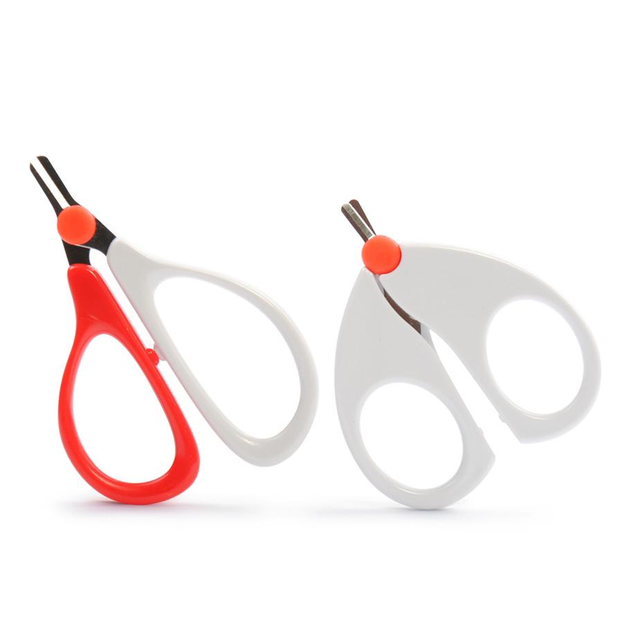 日康指甲剪婴儿安全剪刀新生儿童指甲钳防夹肉指甲刀宝宝专用护理