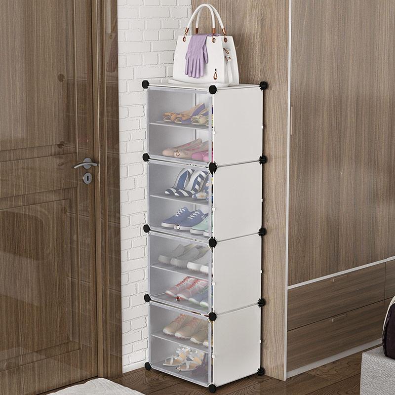 鞋柜简易家用室内好看门口经济型宿舍多层防尘放鞋架子收纳神器