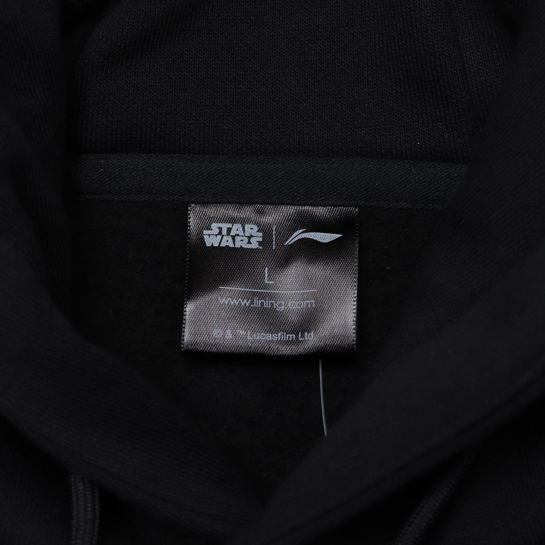 李宁星球大战联名系列卫衣男士2019新款套头衫长袖连帽休闲上衣