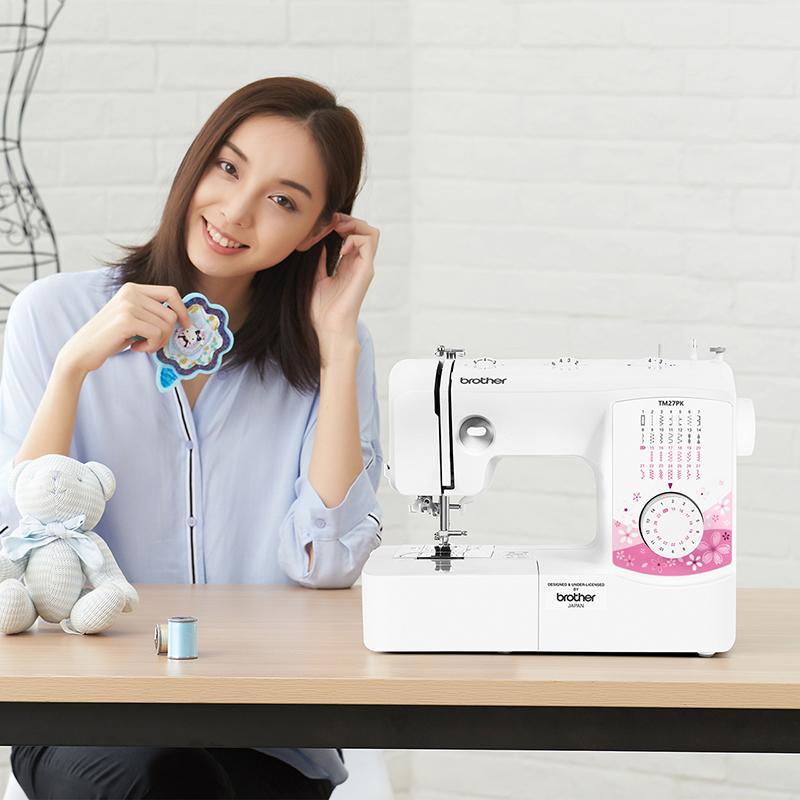 新品上市日本兄弟缝纫机TM27PK家用电动吃厚衣车台式多功能带锁边