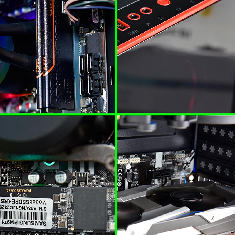 名龙堂i5 9400F/GTX1060升1660Ti 吃鸡游戏水冷台式组装电脑主机高配全套整机主播直播专用网吧电竞diy兼容机