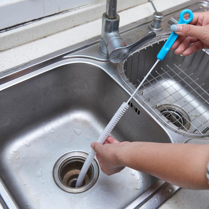 家用管道疏通器通下水道條形馬桶疏通工具水槽頭髮毛髮堵塞清理器