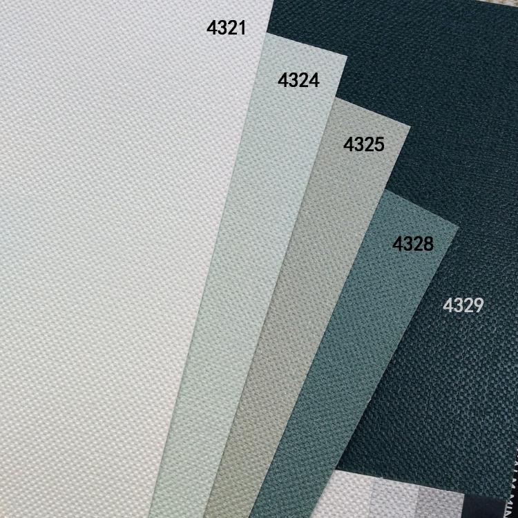 壁纸可擦洗墙纸灰绿豆绿墨绿色纯色素色简约布纹 LG 超大卷现货韩国