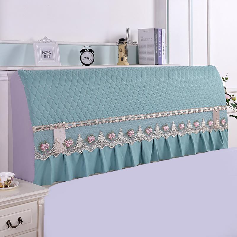 全包床头罩床头套防尘罩1.5m1.8m简约现代皮床软包布艺夹棉保护套