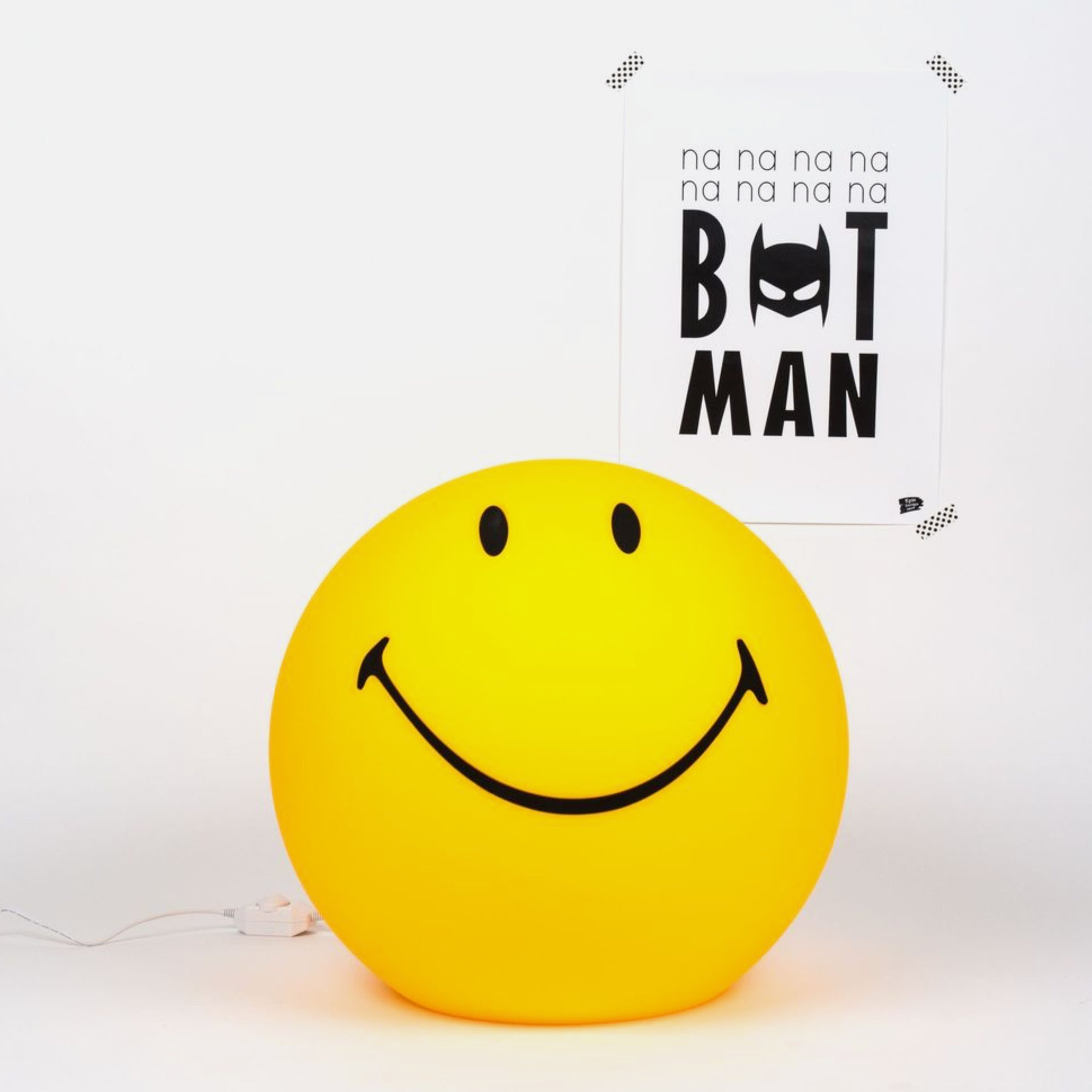 乐观积极人生鼓励小夜灯 Lamp Smiley 创意笑脸灯 Maria Mr 荷兰