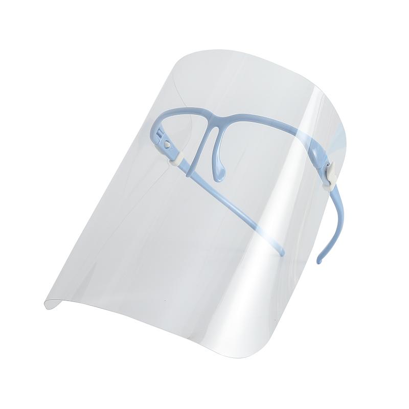 厨房炒菜防油烟防油溅面罩全脸防尘防护透明面俱做饭烧菜护脸挡油