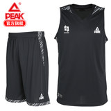 Peak men's summer sportswear set basketball pants 2019 new thin breathable sleeveless T-shirt shorts