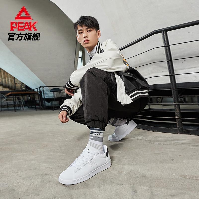 匹克男鞋板鞋2021秋季新款学生小白鞋轻便运动鞋情侣款休闲鞋女潮