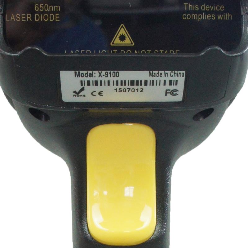 鑫码科技激光扫描枪X-9100有线条形码扫码枪快递超市专用扫描