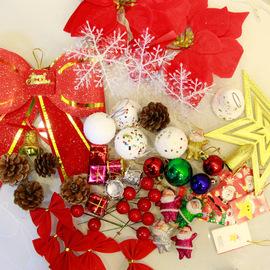 圣诞节装饰品圣诞树套餐家用1.5米1.8m3米加密豪华60cm圣诞树套装
