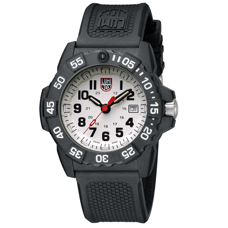 瑞士原装 雷美诺时 LUMINOX 3507 升级版 户外防水夜光潜水手表