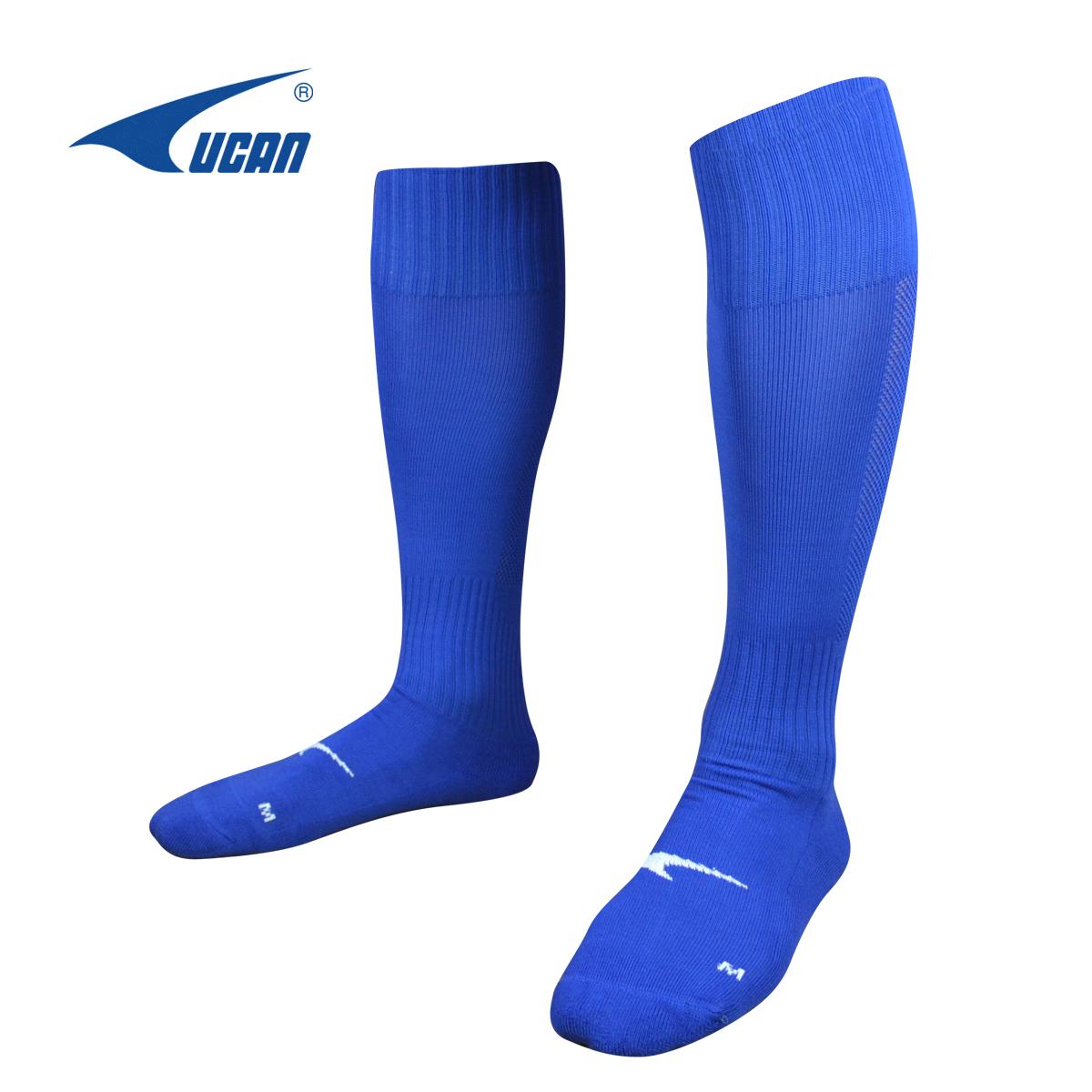 UCAN 銳克足球襪 長筒 過膝 加厚 防滑導汗專業足球襪A07233