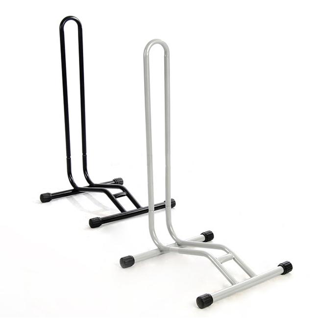 山地車插入式停車架 自行車腳架展示架L型車架公路車駐車架質感黑