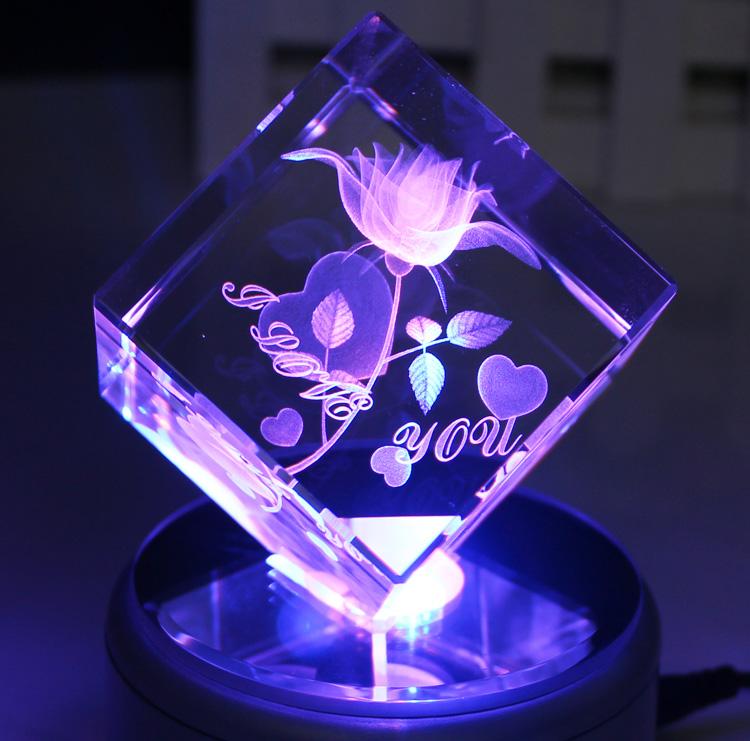 水晶球音乐盒八音盒生日礼物创意女男生送女朋友友老婆情人节礼品