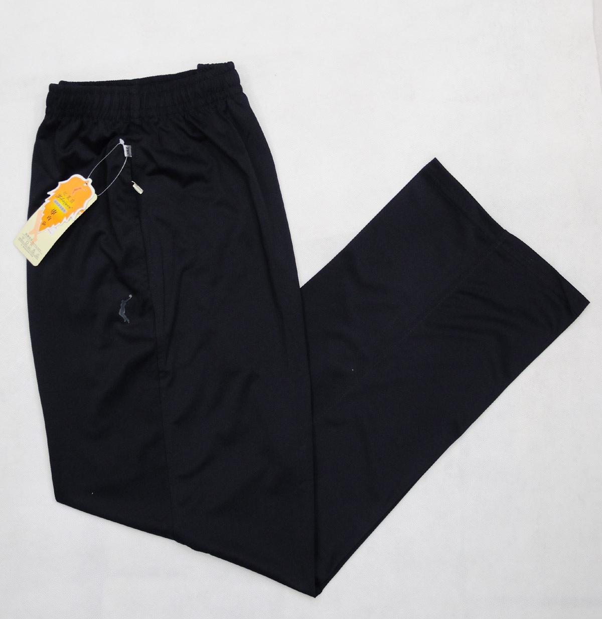 夏季男款南韓絲針織透氣運動長褲薄褲子大碼速幹健身休閒彈性單褲