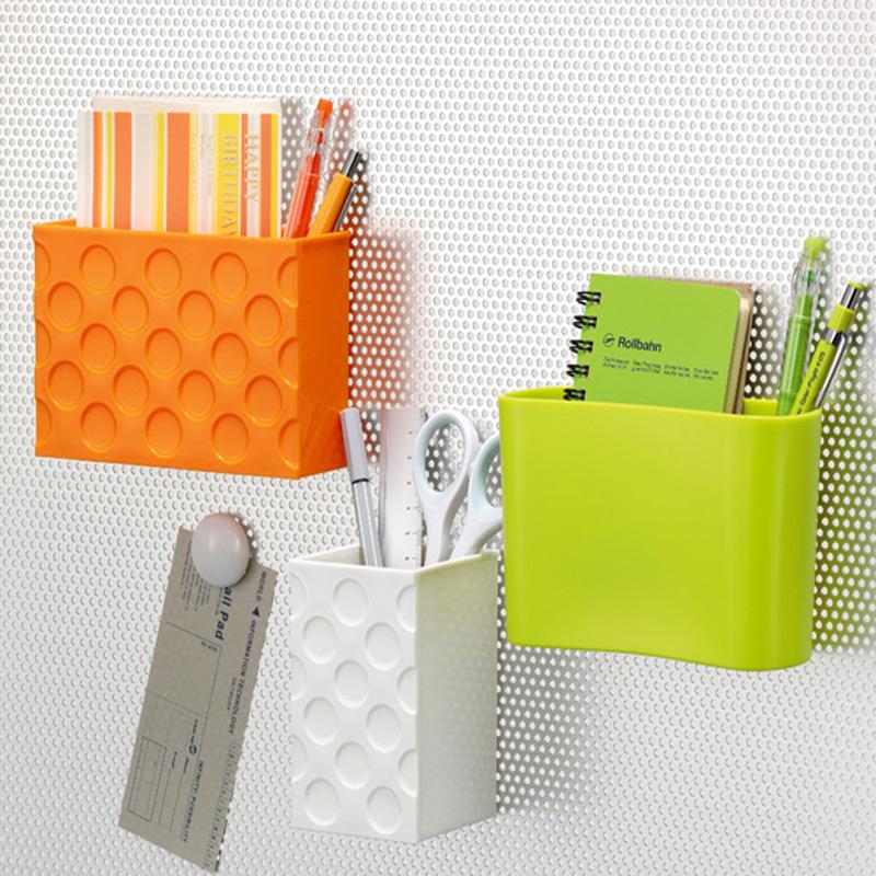 日本進口inomata 冰箱貼 廚房小物收納盒便籤小物收納格磁鐵吸附