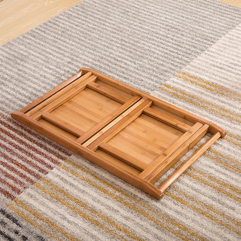 寻竹记楠竹炕桌功夫茶桌茶几简约懒人桌床上折叠桌笔记本电脑小桌