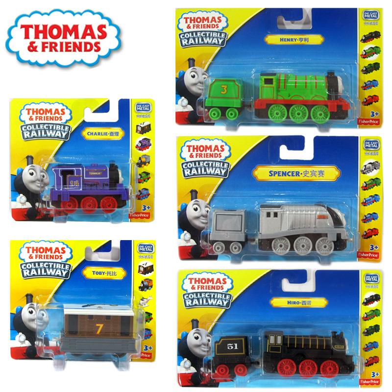 费雪托马斯小火车头Thomas轨道合金车套装儿童男孩玩具车培西高登
