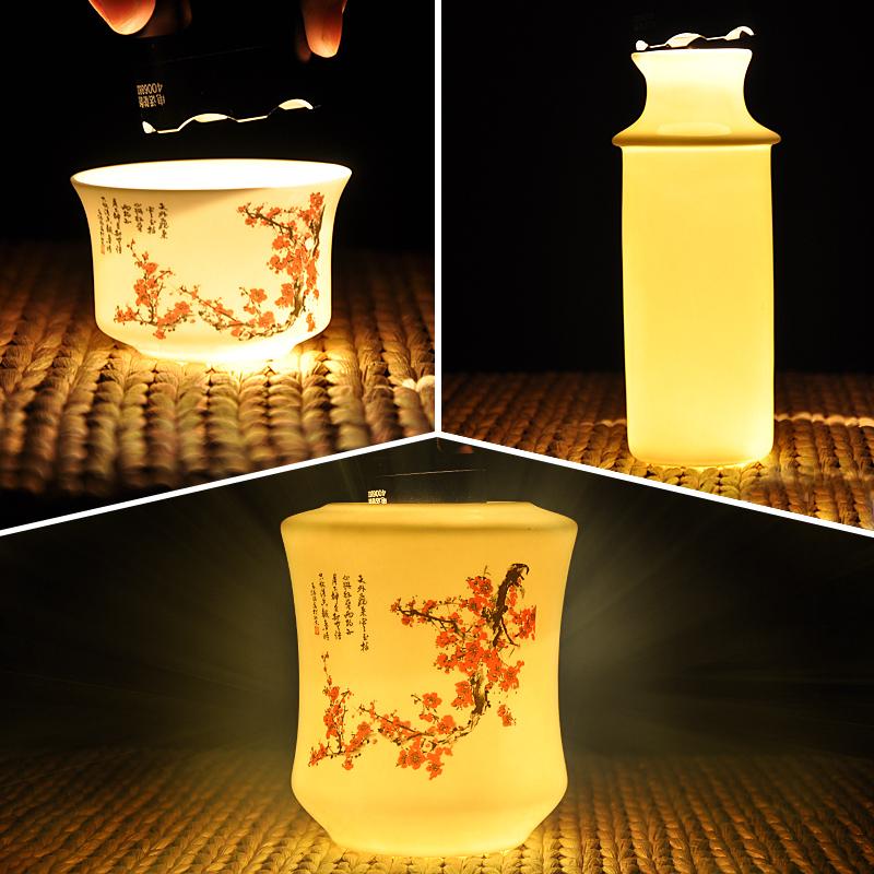 骨瓷半斤温酒器中式中国风黄酒温酒壶家用热酒器烫酒壶陶瓷汤酒壶
