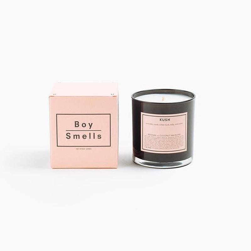进口香薰蜡烛蜂蜡椰子蜡卧室无烟香氛精油杯包邮 Smells Boy 现货