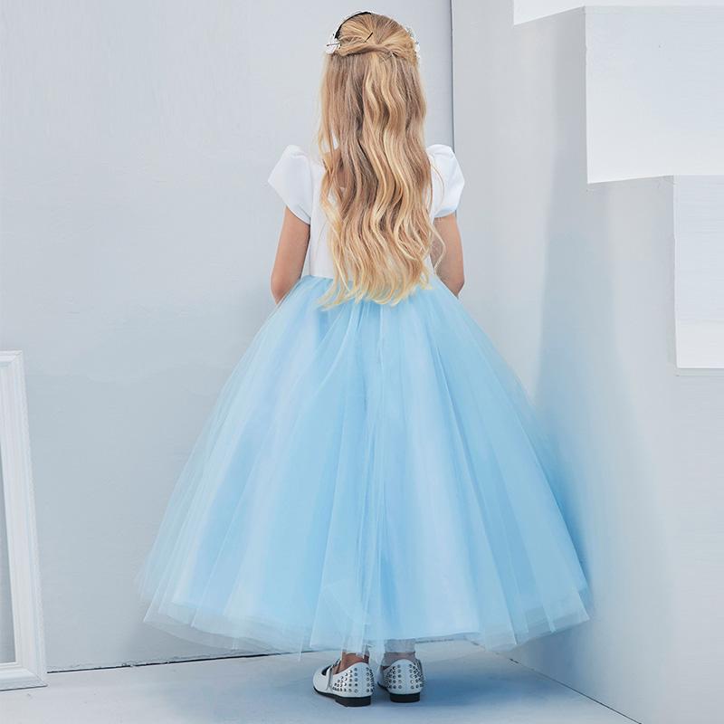 葛澜儿童走秀女童表演礼服定制花童宝贝公主裙蓬蓬裙钢琴演出服