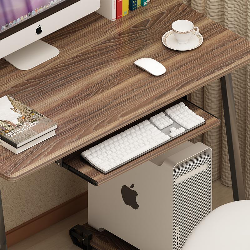 简约办公桌台式桌电脑桌家用简易现代小书桌笔记本电脑桌子写字台