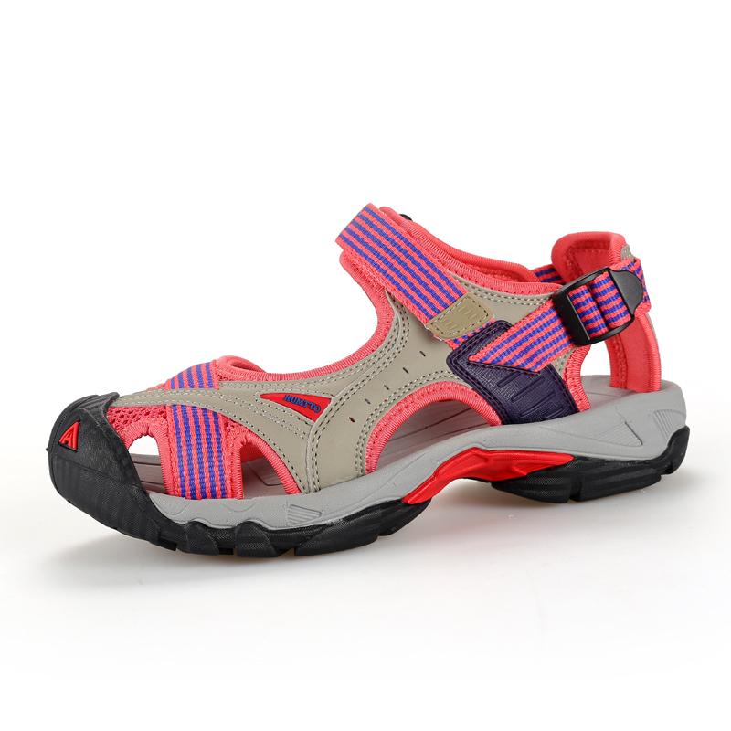 运动凉鞋女2019新款悍途涉水鞋男包头拖鞋海边度假防滑户外沙滩鞋