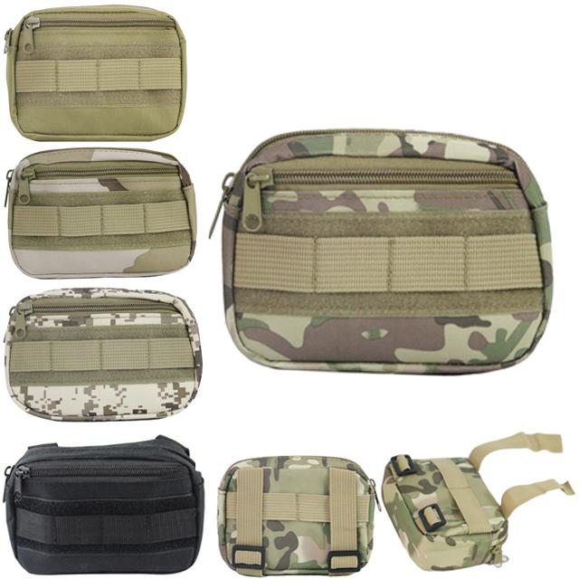 德毅營戶外 戰術包mollle迷彩副包系統掛包 軍迷戰術背心附件雜物