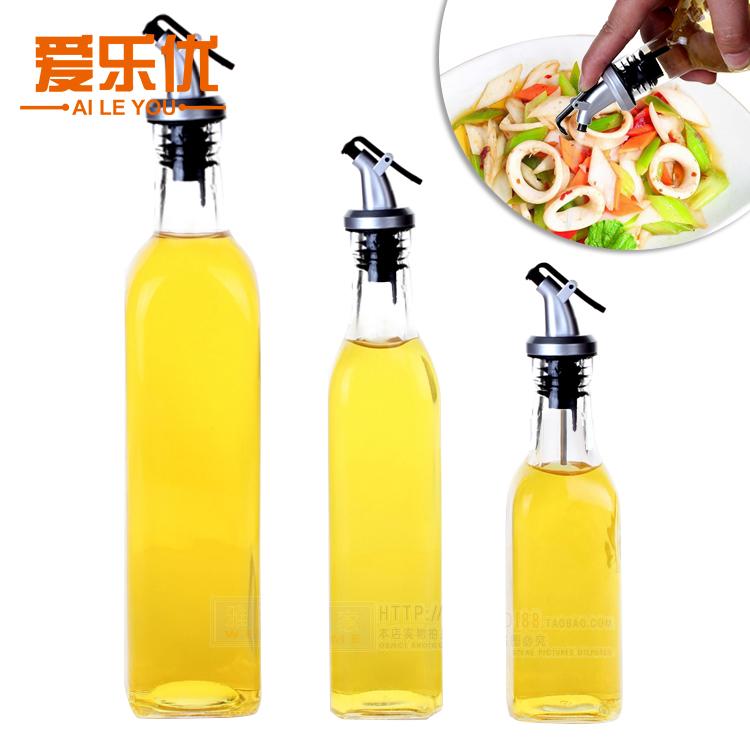 玻璃油瓶家用廚房裝油瓶油罐大容量防漏油壺醬油瓶油胡醋瓶醋壺