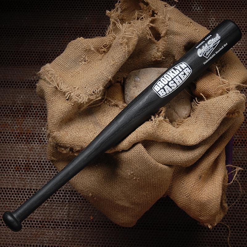 美国冷钢 塑钢棒球棍防身车载武器男打架儿童棒球棒软式塑料实心