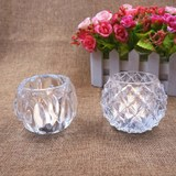 Continental Crystal Candle creative romantic candlelight dinner glass ornaments home decor wedding birthday bar