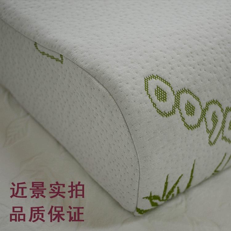 記憶枕頭套 50x30 大人頸椎枕套弓型蝶形枕套 40 60 夏季泰國乳膠枕套
