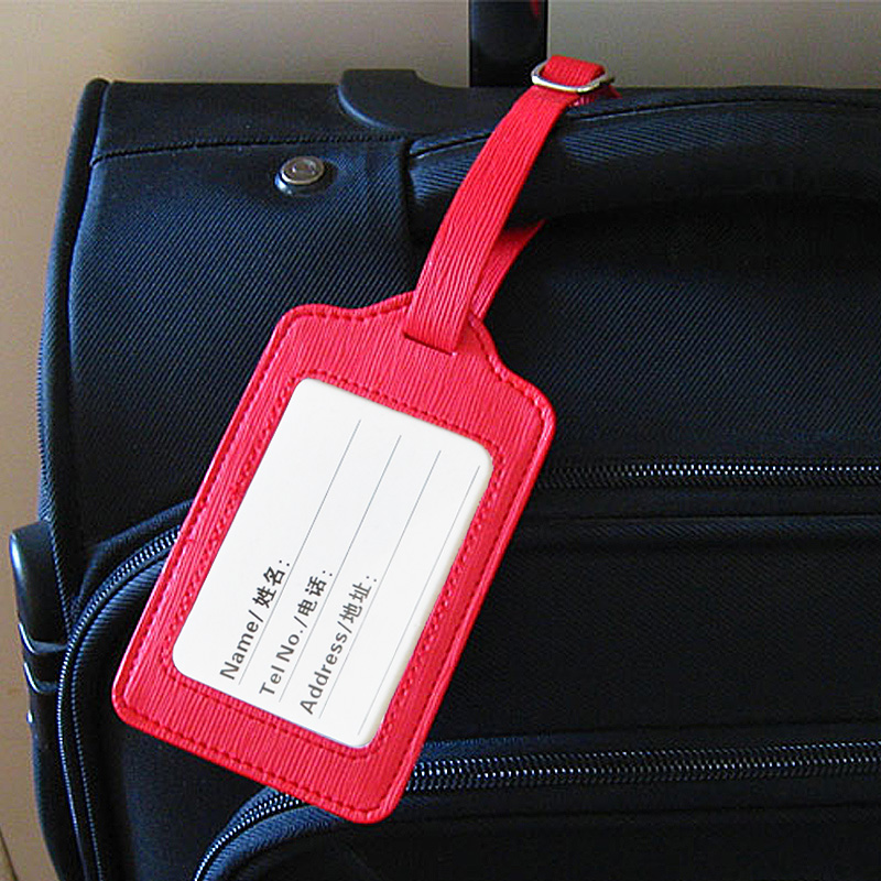 行李牌 皮革登機牌 登機箱行李吊牌 防丟掛牌行李識別牌 定製LOGO