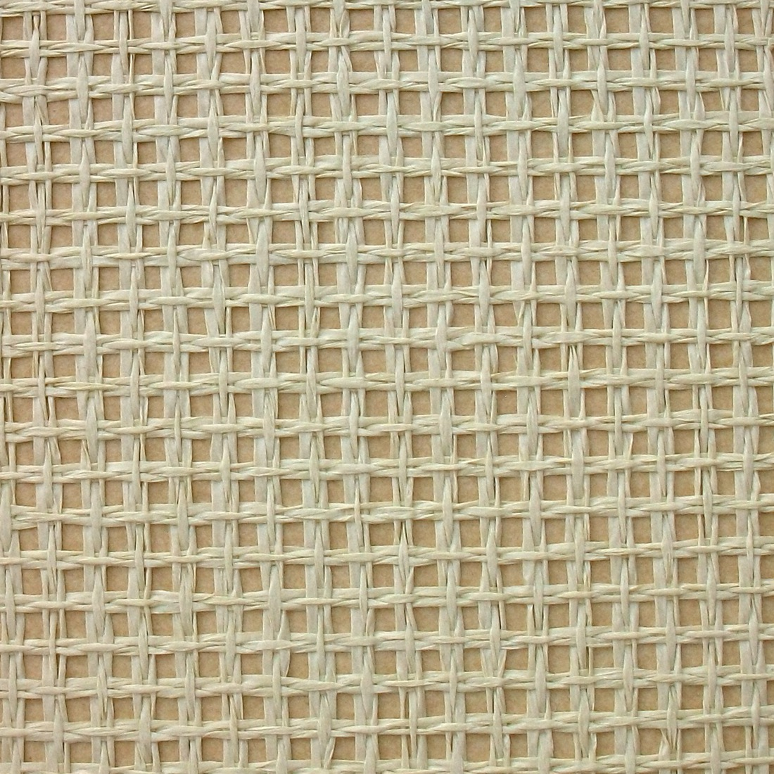 实拍酒店茶楼和室榻榻米背景满铺壁纸草编墙纸大网格镂空交叉编织