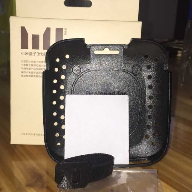 選購配件 小米盒子3S與3C(黑色)3增強版(白色)配套專用多功能支架