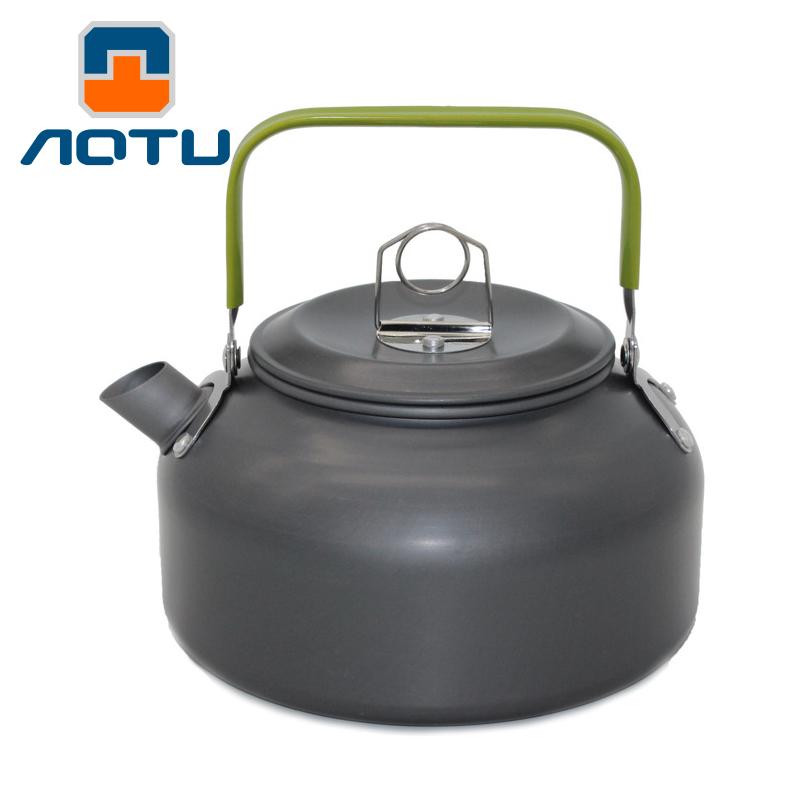 凹凸 戶外燒水壺野營野餐0.8L 玲瓏壺咖啡壺 露營裝備便攜泡茶壺