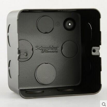 施耐德地插底盒 施耐德专用地插底盒  M225B