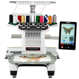 Brother embroidery machine flagship store brother brand PR1050X commercial single head 10 needle computer embroidery machine brand new genuine