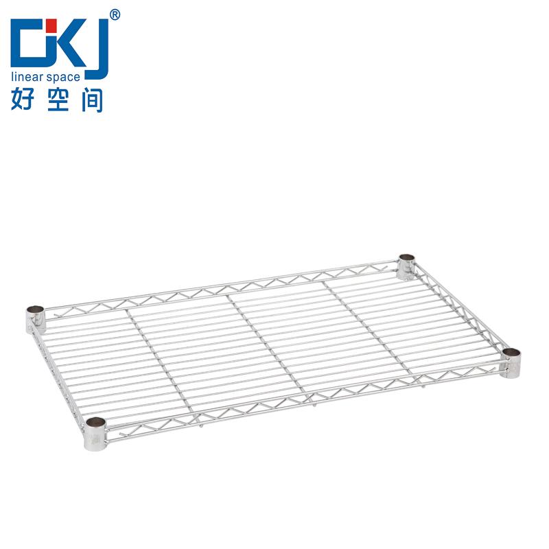 廚房用品置物架diy金屬架網片自由組合收納層架落地中管網片架子