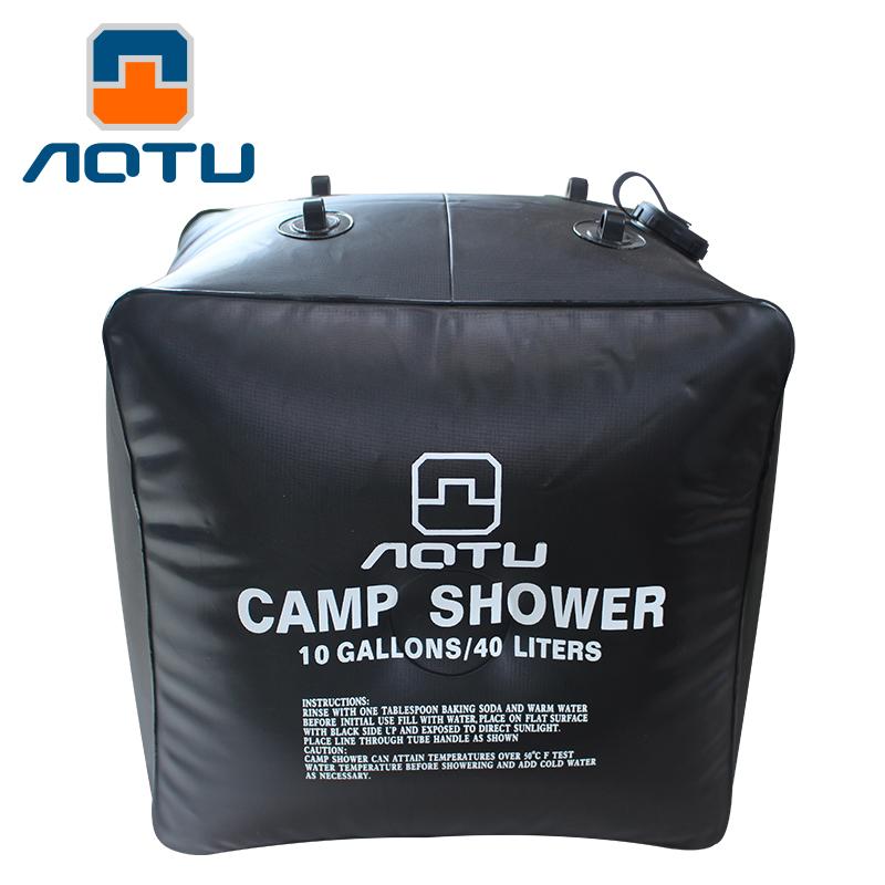 40L太陽能晒水袋戶外野外便攜洗澡沐浴熱水袋房頂家用儲水淋浴袋