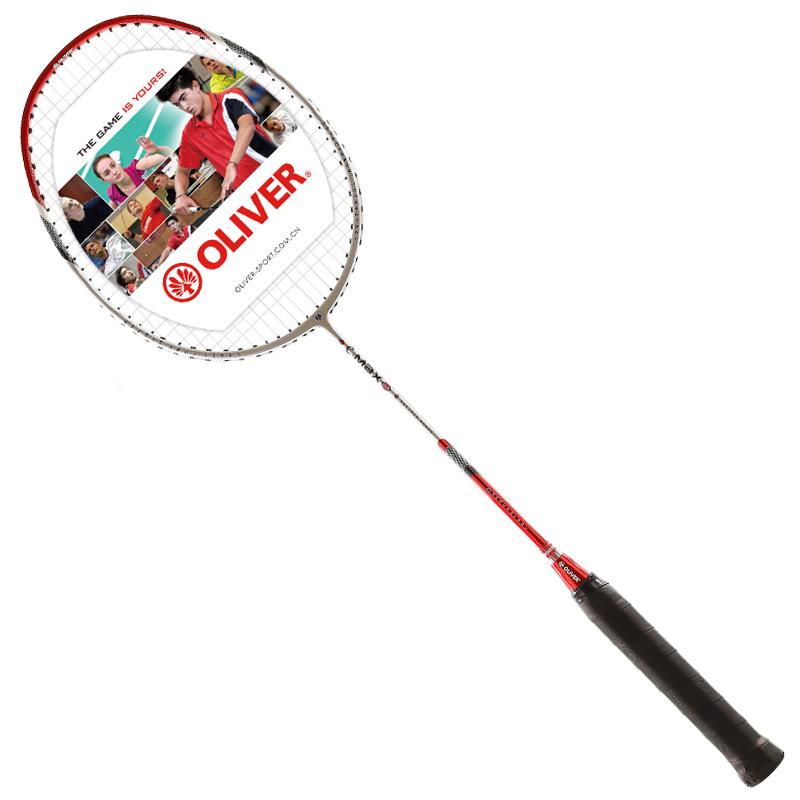 OLIVER奧立弗 德國工藝 羽毛球拍單拍 EMAX86/88全碳素