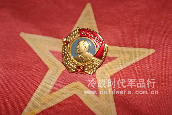 俄羅斯紅場紀念品 蘇聯列寧勳章 迷你版 襟章領章 勝利日徽章胸花
