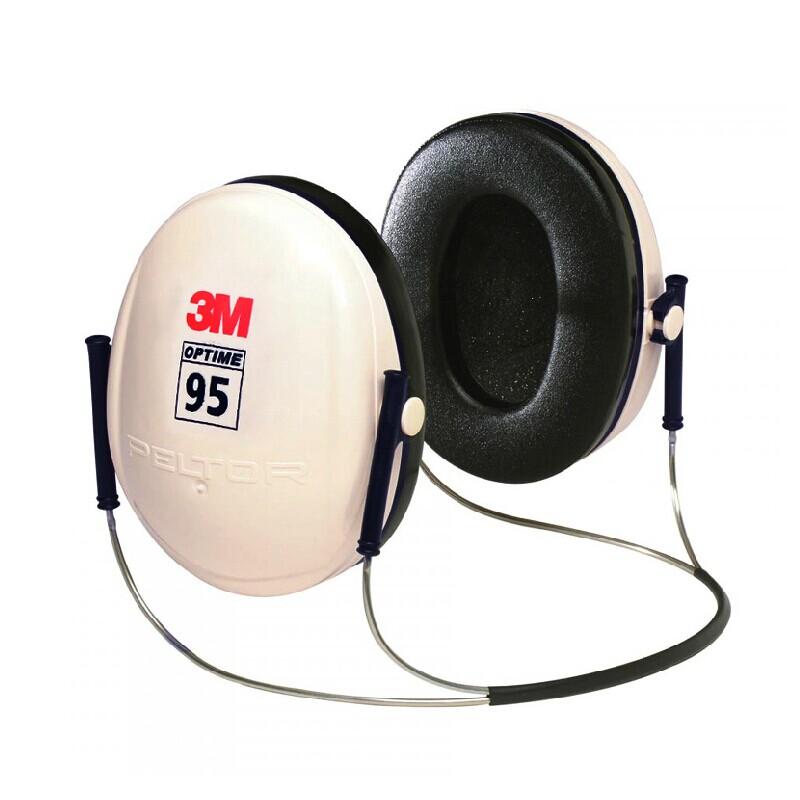 3M H6B頸帶式專業隔音耳罩防噪聲學習工廠睡覺睡眠射擊降噪音耳罩