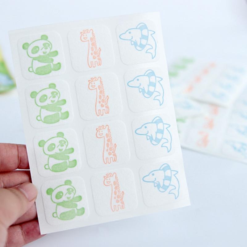 日本贝亲新生儿起60枚天然桉树油婴幼儿防蚊贴儿童宝宝驱蚊贴户外